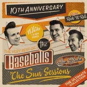 The Baseballs: The Sun Sessions, CD