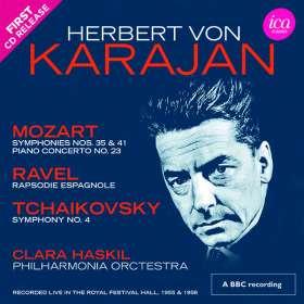 Herbert von Karajan - Live in the Royal Festival Hall 1955 & 1956, 2 CDs