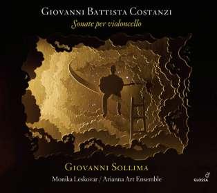 Giovanni Battista Costanzi (1704-1778): Sonate per Cello, CD