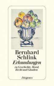 Bernhard Schlink: Erkundungen zu Geschichte, Moral, Recht und Glauben, Buch