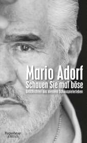 Mario Adorf: Schauen Sie mal böse, Buch