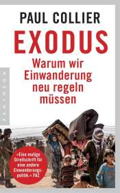 Paul Collier: Exodus, Buch