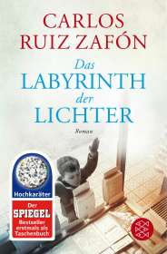 Carlos Ruiz Zafón: Das Labyrinth der Lichter, Buch