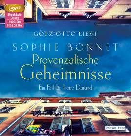 Sophie Bonnet: Provenzalische Geheimnisse, MP3-CD