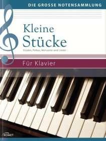 Kleine Stücke für Klavier, Noten