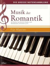 Musik der Romantik für Klavier, Noten