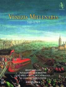Hesperion XXI - Venezia Millenaria 700-1797 (Deluxe-Version im Buchformat), 2 SACDs