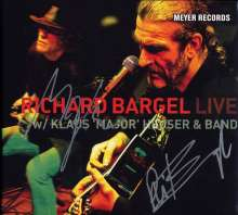 Richard Bargel: Live With Klaus 'Major' Heuser & Band (180g) (signiert), 2 LPs