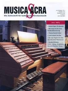 Zeitschriften: Musica Sacra - Zeitschrift für kath. Kirchenmusik  5/2017(Oktober), Zeitschrift