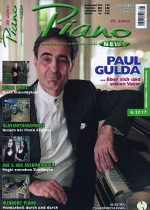 Zeitschriften: PIANONews - Magazin für Klavier & Flügel (Heft 6/2017), Zeitschrift