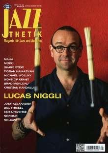 Zeitschriften: Jazzthetik - Magazin für Jazz und Anderes Mai/Juni 2018, Zeitschrift