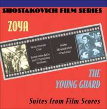 Zoya The Young Guard-Shostako: Soundtrack, CD
