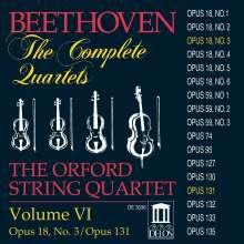 Ludwig van Beethoven (1770-1827): Sämtliche Streichquartette Vol.6, CD