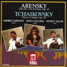 Anton Arensky (1861-1906): Klaviertrio Nr.1, CD