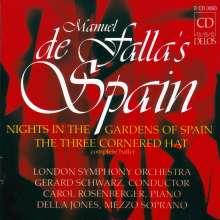 Manuel de Falla (1876-1946): Der Dreispitz (Gesamtaufnahme), 8 CDs