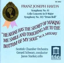 Joseph Haydn (1732-1809): Symphonien Nr.61 & 103, CD