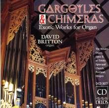 David Britton spielt exotische Orgelwerke, CD