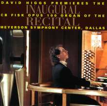 David Higgs,Orgel, CD