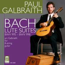 Johann Sebastian Bach (1685-1750): Gitarrenwerke BWV 995-998, CD