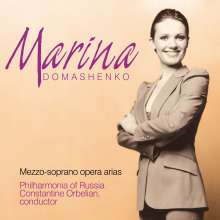 Marina Domashenko singt Arien, CD