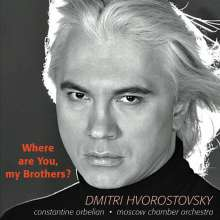 Dmitri Hvorostovsky - Where are You, my Brothers?, CD