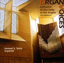 Samuel S.Soria - Organ Voices, CD