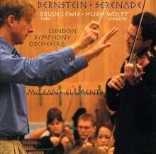 Leonard Bernstein (1918-1990): Serenade für Violine,Streicher,Harfe,Schlagzeug, CD
