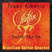 Isaac Albeniz (1860-1909): Iberia-Suite für Gitarrenquartett, CD