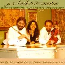 Johann Sebastian Bach (1685-1750): Triosonaten für Flöte, Violine & Klavier, CD