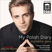 Kiryl Keduk - My Polish Diary, CD