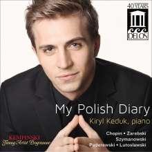 Kiryl Keduk - My Polish Diary, CD