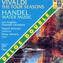 """Antonio Vivaldi (1678-1741): Concerti op.8 Nr.1-4 """"4 Jahreszeiten"""", 2 CDs"""