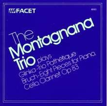 Bruch / Glinka / Montag: Trios, CD