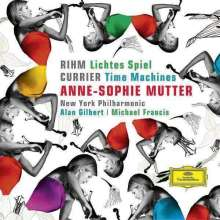 Anne-Sophie Mutter - Rihm/Currier, CD