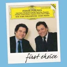 Itzhak Perlman spielt Werke für Violine & Orchester, CD