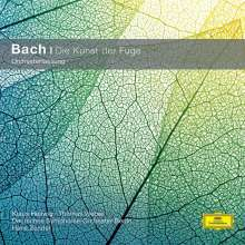Johann Sebastian Bach (1685-1750): Die Kunst der Fuge BWV 1080 für 2 Klaviere & Orchester, CD