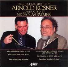 Arnold Rosner (geb. 1945): Orchesterwerke Vol.1, CD
