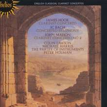 John Mahon (1748-1834): Klarinettenkonzert Nr.2, CD