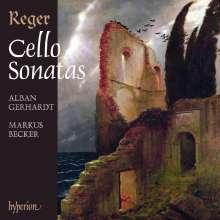 Max Reger (1873-1916): Sonaten für Cello & Klavier Nr.1-4, 2 CDs