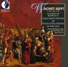 Johann Sebastian Bach (1685-1750): Kantaten BWV 56 & 140, CD