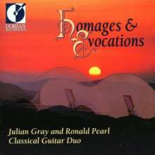 J.Gray & R.Pearl - Homages & Evocations, CD