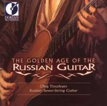 Oleg Timofeyev - The Golden Age of Russian Guitar 1, CD