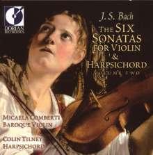 Johann Sebastian Bach (1685-1750): Sonaten für Violine & Cembalo BWV 1017-1019, CD