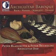 Peter Blanchette & Peter Michelini - Archguitar Baroque, CD