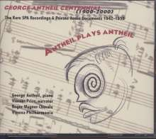 George Antheil (1900-1959): Antheil plays Antheil, 2 CDs