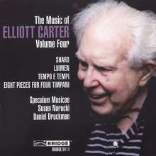 Elliott Carter (1908-2012): Tempo E Tempi, CD