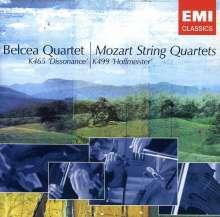 Wolfgang Amadeus Mozart (1756-1791): Streichquartette Nr.19 & 20, CD