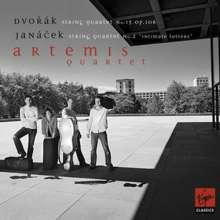Artemis Quartett - Dvorak & Janacek, CD