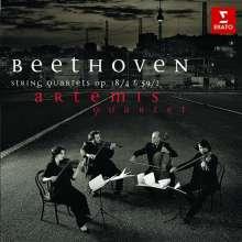 Ludwig van Beethoven (1770-1827): Sämtliche Streichquartette Vol.2 (Artemis-Quartett), CD