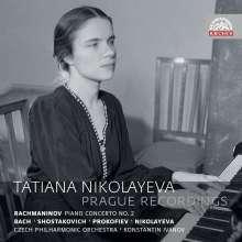 Tatiana Nikolayeva - Prague Recordings, 2 CDs